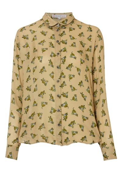 Paul & Joe Sister Balou Leopard Shirt - Beige main image