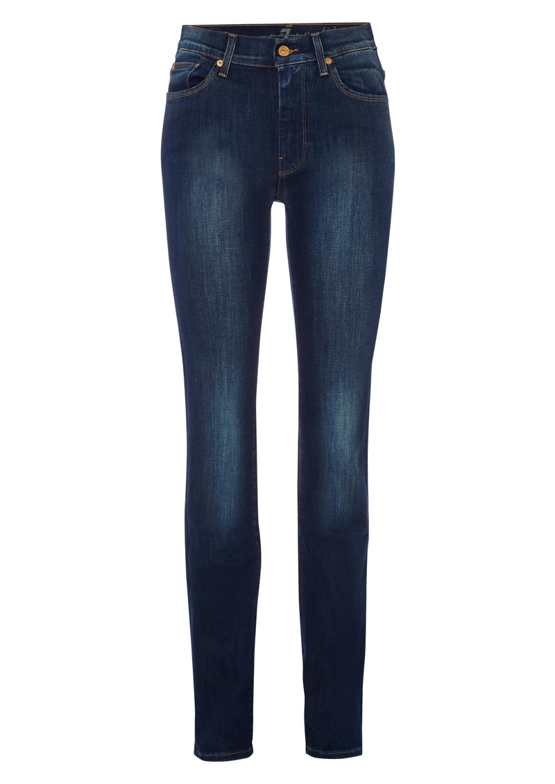 7 For All Mankind High Waisted Straight Leg - Mind main image
