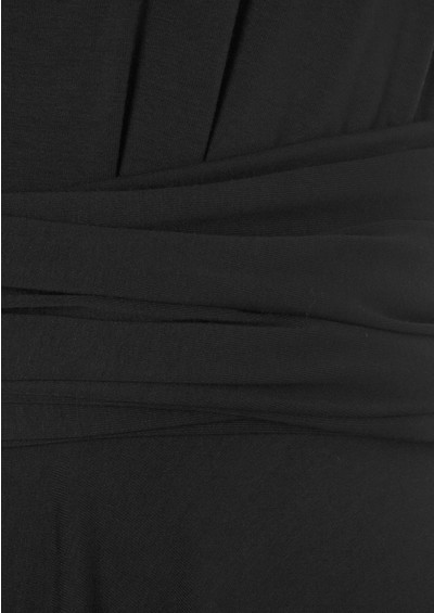 Butter By Nadia Signature Jersey Wrap Dress - Charcoal  main image