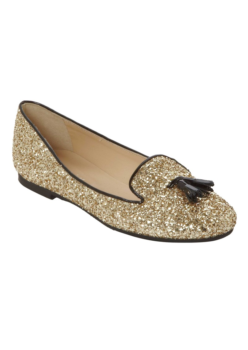 Just Ballerinas Glitter Platino Pumps - Gold main image