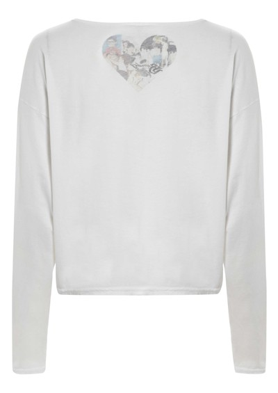 Simdog Long Sleeved Diamond Tee - White main image