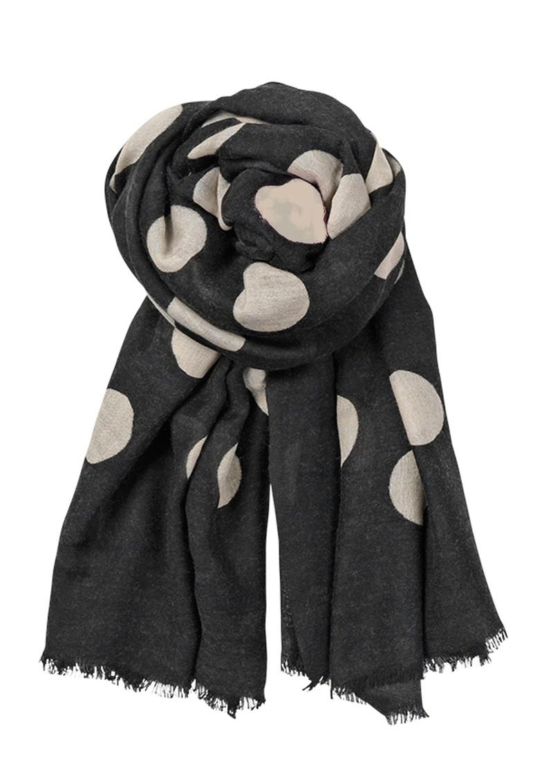 Becksondergaard X Supersize Wool & Silk Blend Scarf - Black main image