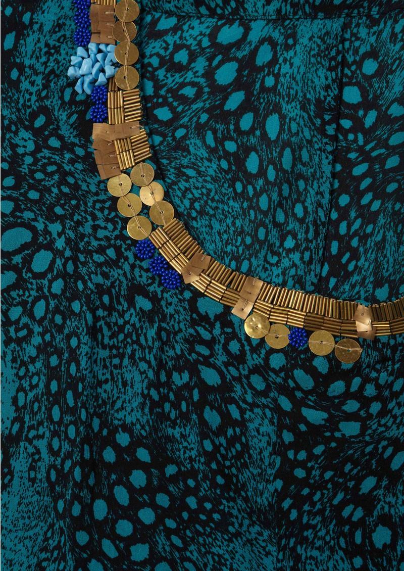 Pyrus Ariane Twist Top - Turquoise main image