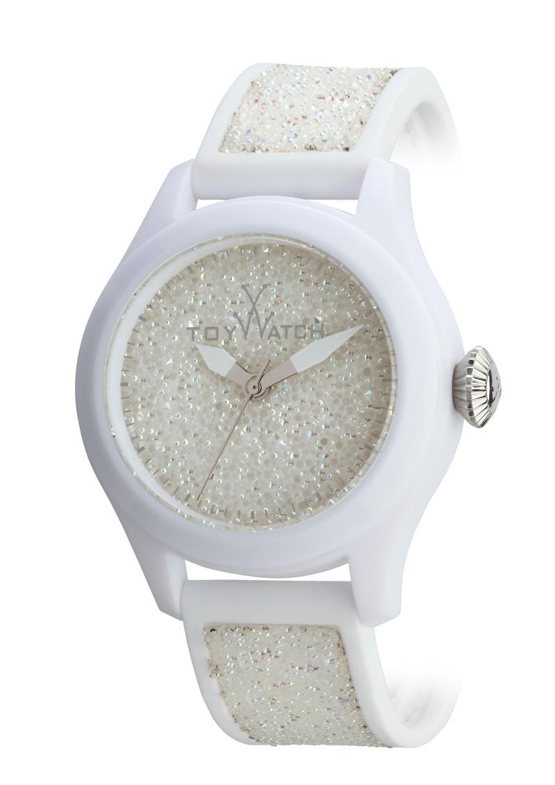 Toywatch Glitter Watch - White main image