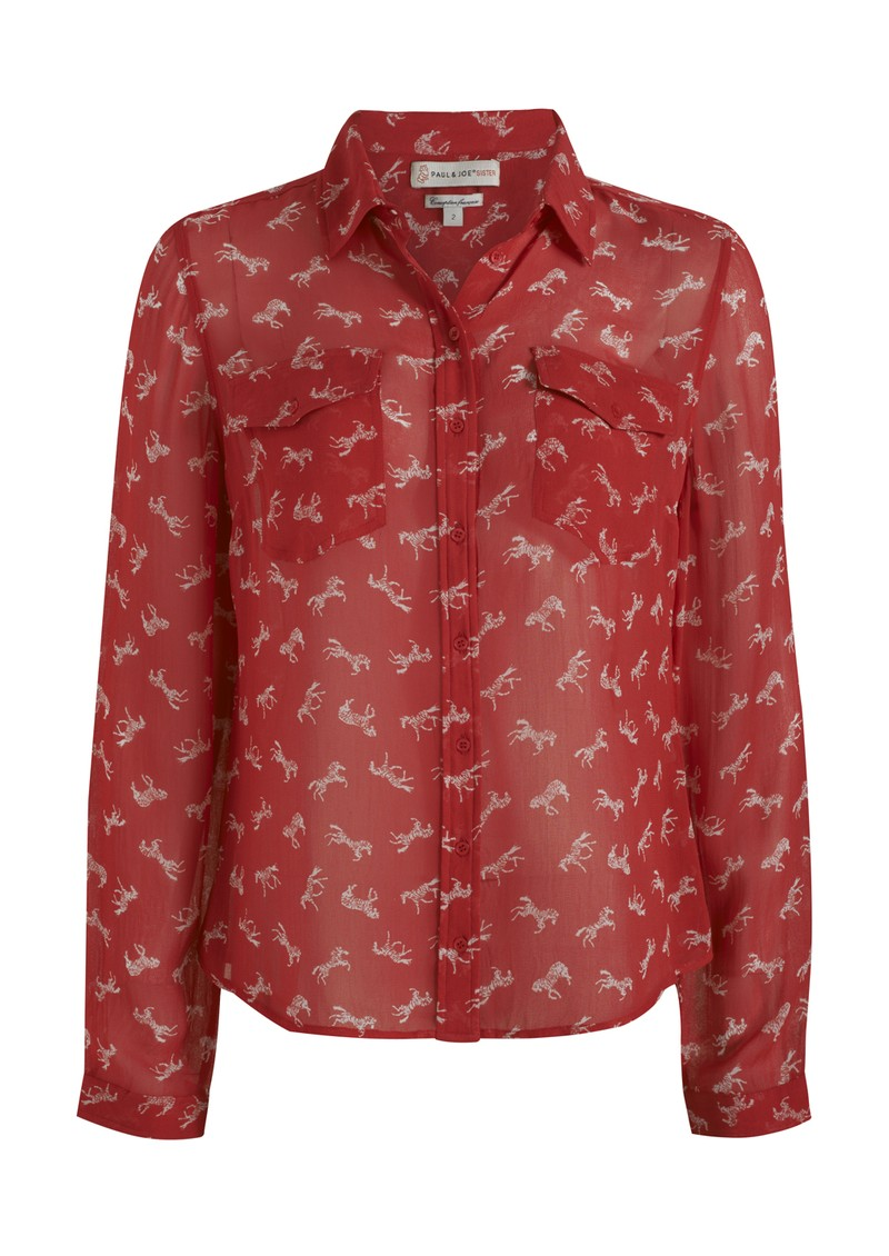 Cavalera Blouse - Rouge main image