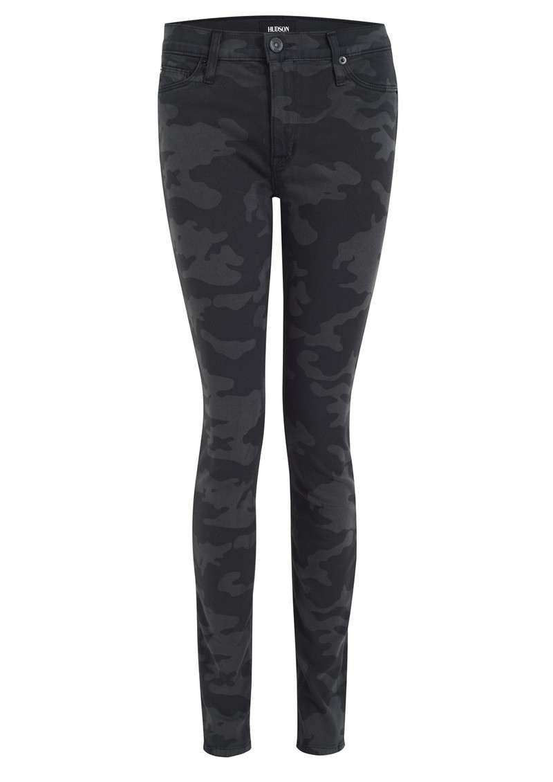 Hudson Jeans Nico Mid Rise Skinny Jean - Camo main image