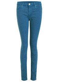 Nico Midrise Skinny Jean - Wedge Wood