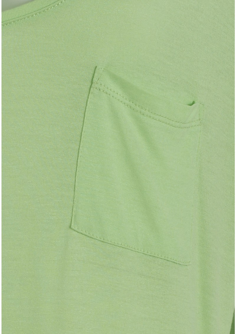 Blossom Tee - Light Green main image