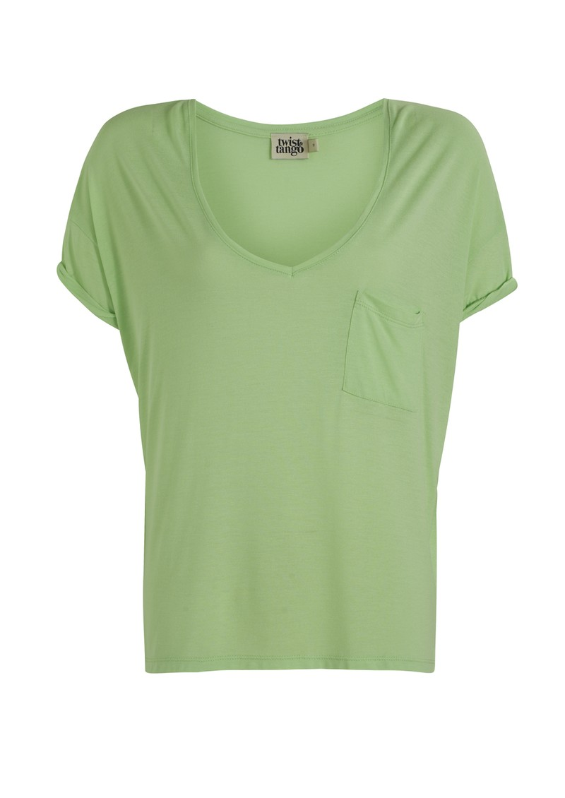 Twist and Tango Blossom Tee - Light Green main image