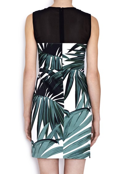 American Retro Lola Dress - Printed main image