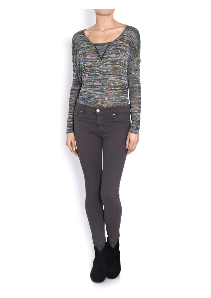 Nico Super Skinny Jean - Dark Grey main image