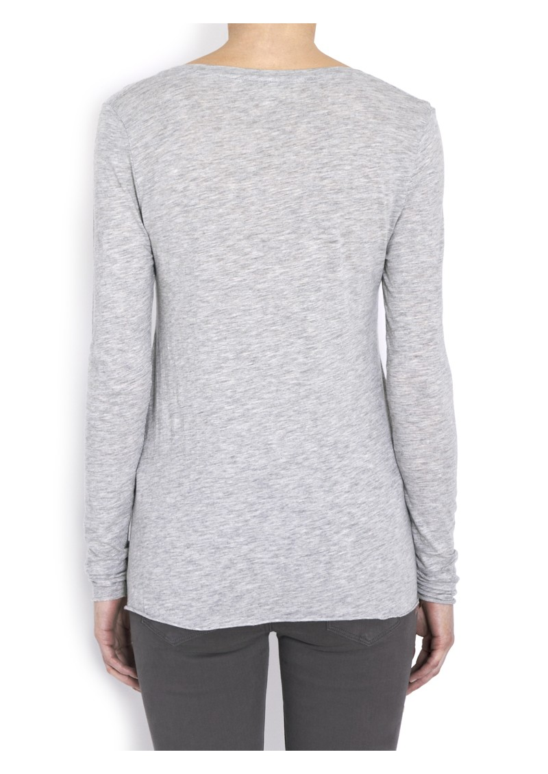 Jacksonville Long Sleeve Tee - Heather Grey main image