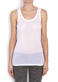 Massachussets Tank - White
