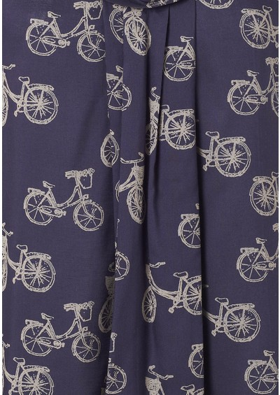 Great Plains Velo Bike Print Top - Damsel & Tulie main image
