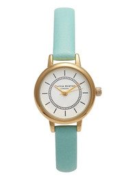Olivia Burton Colour Crush Watch - Pale Turquoise