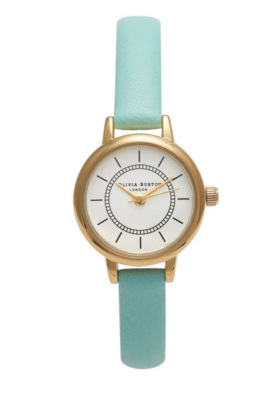 Olivia Burton Colour Crush Watch - Pale Turquoise main image