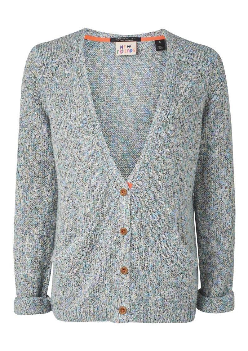 Maison Scotch Surf Inspired Knit Cardigan - Combo A main image