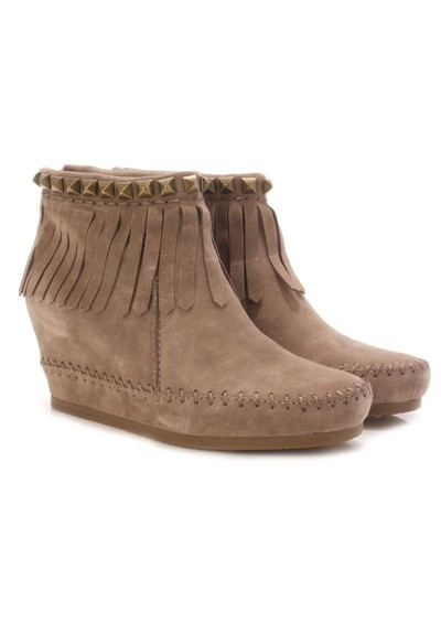 Ash Squaw Calf Ankle Boots - Vision main image