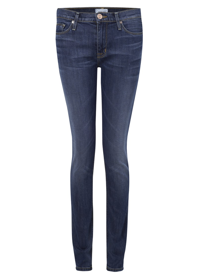 Gia Mid Rise Skinny Jeans - Hackney main image