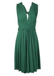Butter By Nadia Signature Jersey Wrap Dress - Evergreen