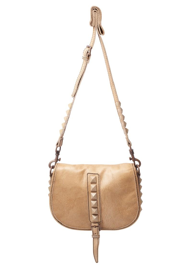 Liebeskind Flipa 2D Leather Cross Shoulder Bag - Sand main image