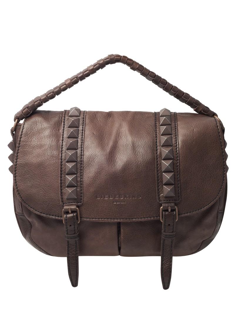 Liebeskind Hailey 2D leather Handbag - Rouge Noir main image