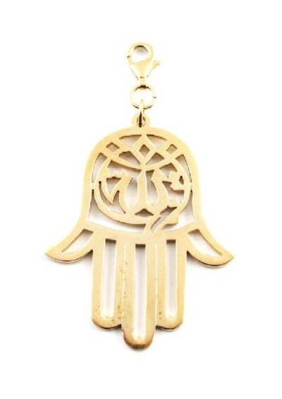 ChloBo Cloud 9 Gold Hamsa Hand Pendant - Gold main image