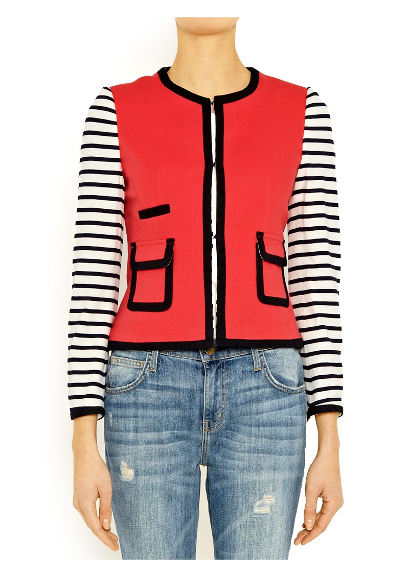 Vilagallo Kelly Crop Jacket - Freesia main image
