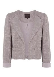 Great Plains Jane Jaquard Jacket - Hessian