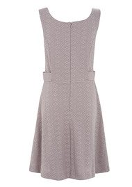 Great Plains Jane Jaquard Dress - Hessian