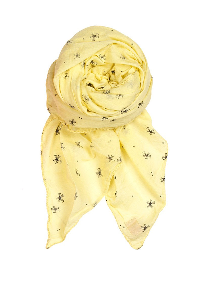 D Dusty Sky Scarf - Lemonade main image