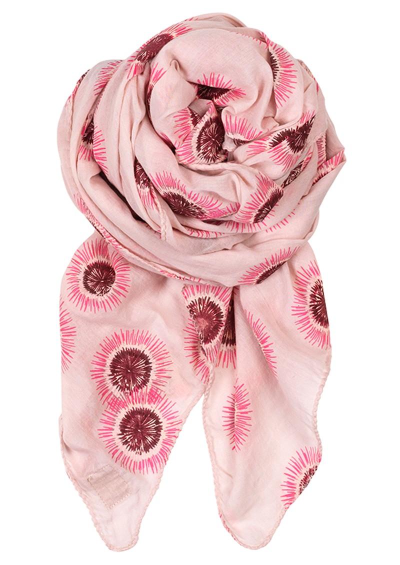 Becksondergaard D Spin Flower Scarf - Neon Pink main image