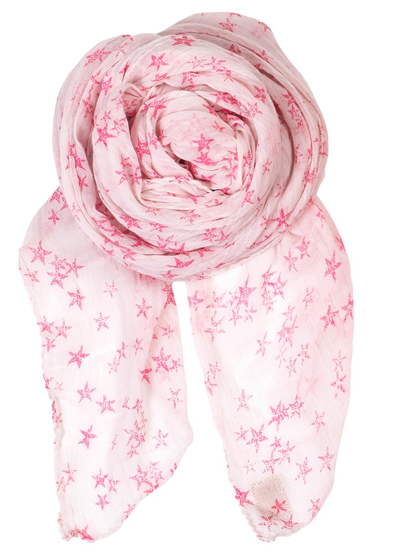 D Faded Star Scarf - Cold Sand main image