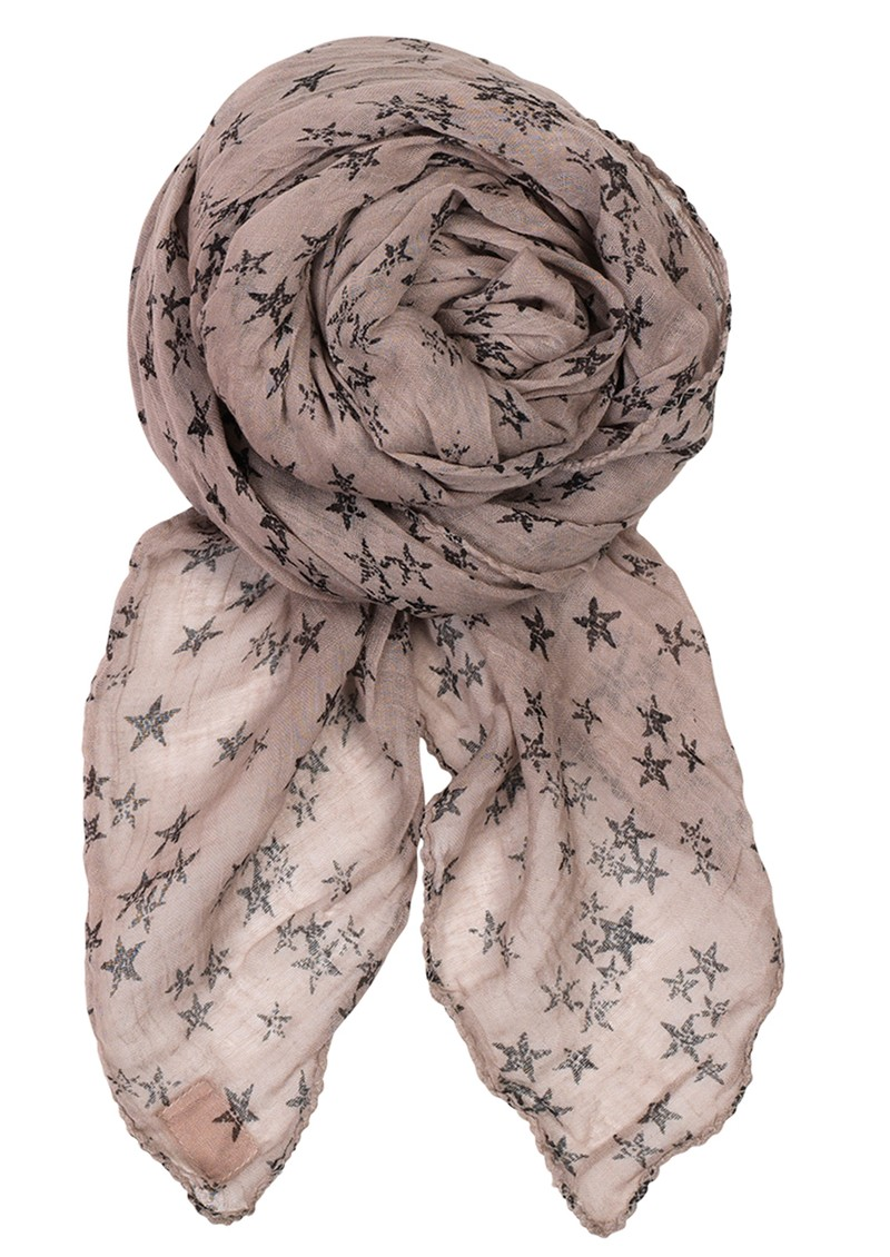 Becksondergaard D Faded Star Scarf - Mouse main image