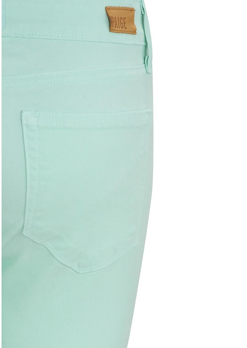 PAIGE DENIM Indigo Zip Ultra Skinny Jeans - Glass main image