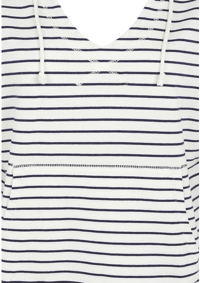 Bobi Striped Hoodie - Light Yacht main image