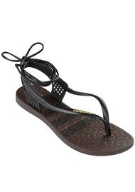 Pharoah Wrap Sandal - Black
