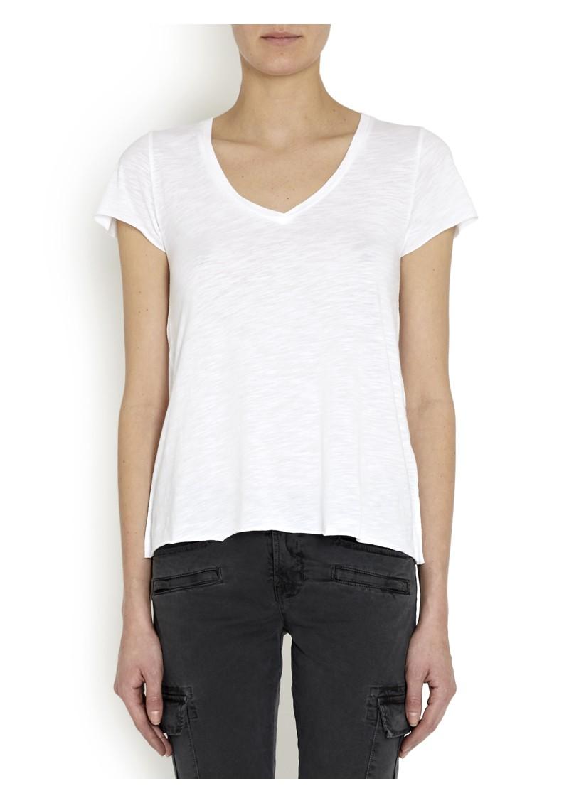 American Vintage Jacksonville Short Sleeve Top - White main image