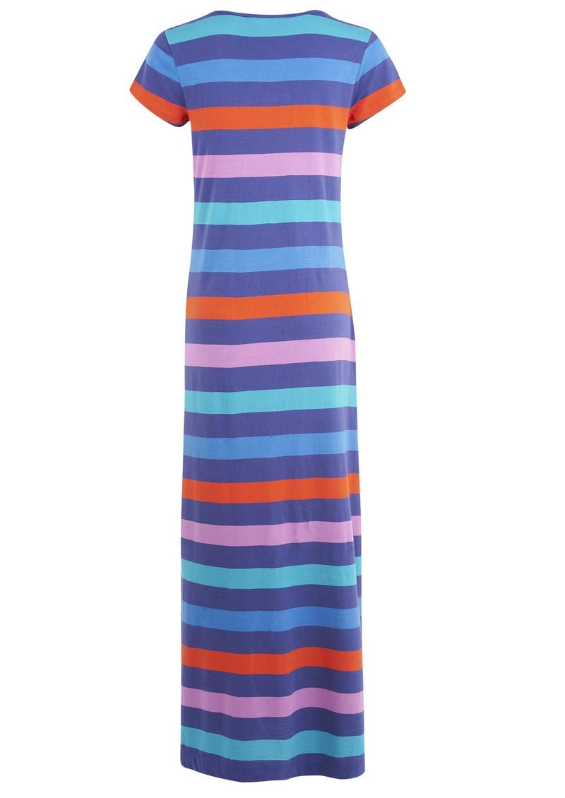 Great Plains Tanni Striped Maxi Dress - Azaelia Combo main image