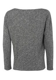 Hot Springs Top - Charcoal Melange