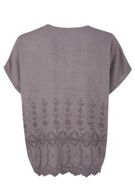 Great Plains Bethan Broderie Blouse - Capricorn