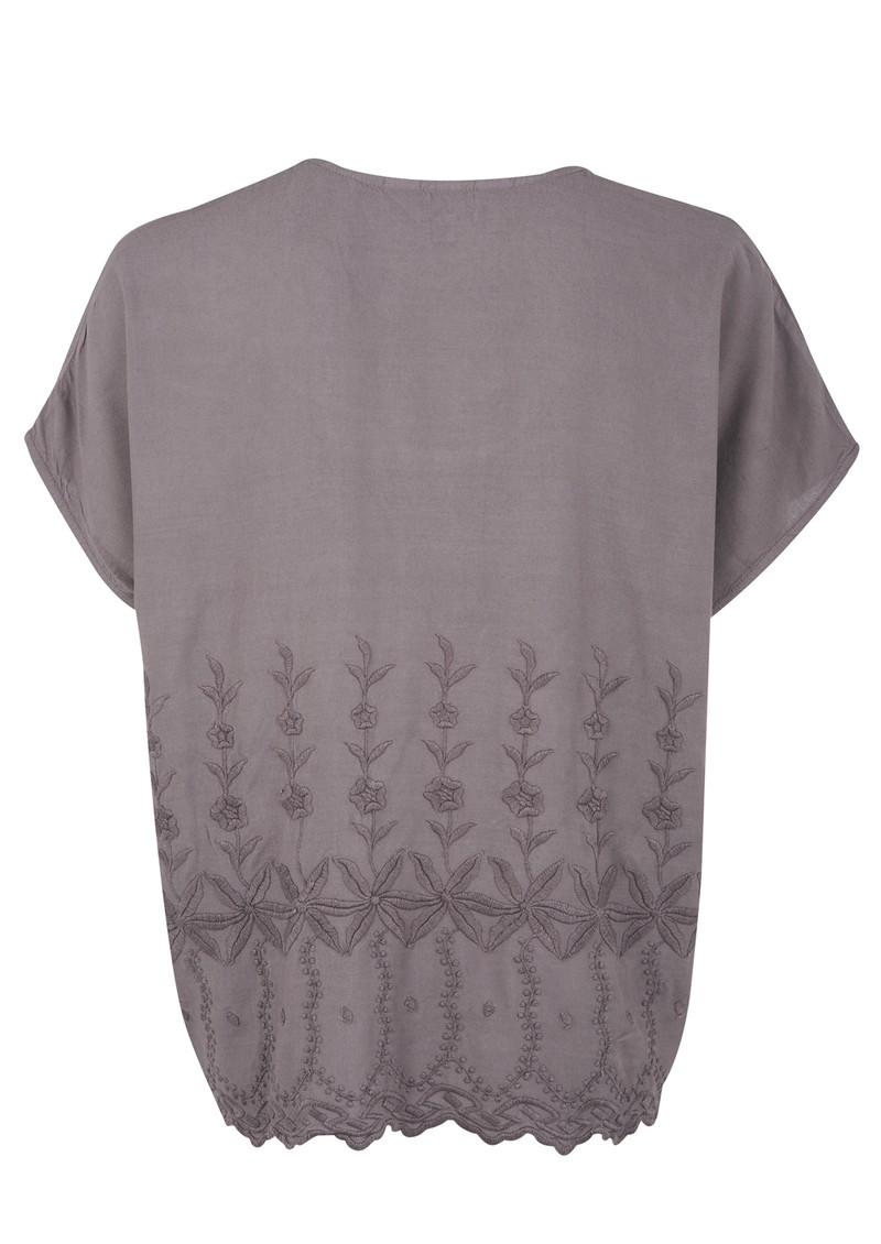 Great Plains Bethan Broderie Blouse - Capricorn  main image