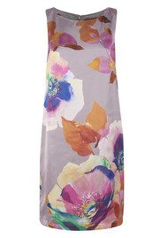 Great Plains Teesbrooke Watercolour Dress - Hessian
