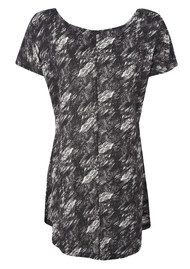 Twisted Muse Bailey Lava Top - Black & White