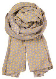 E-Summer Stars Scarf - Mirage Grey