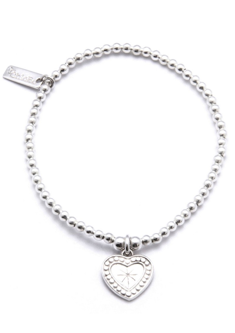 Cute Charm Star Heart Bracelet main image