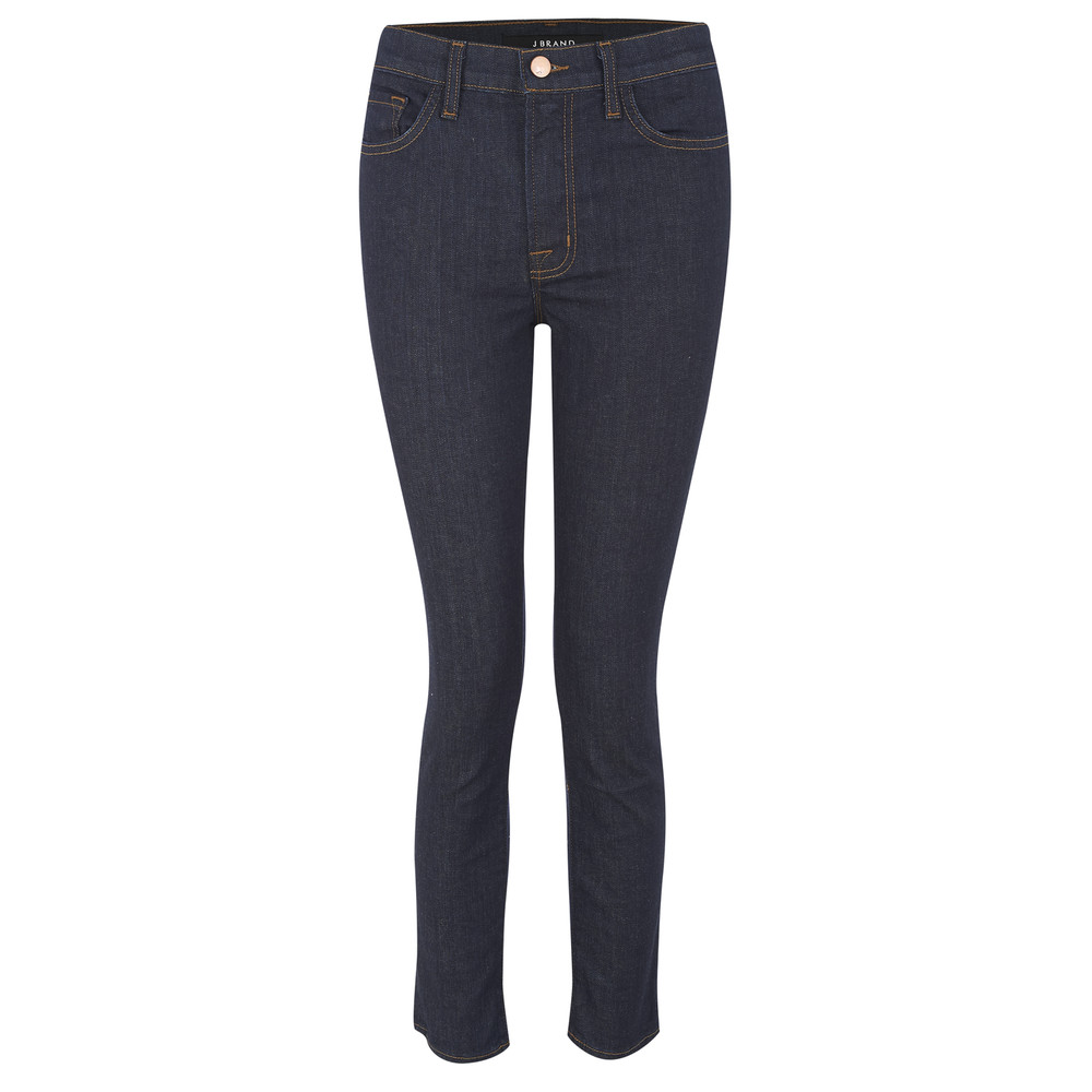 2028 Alessandra High Rise Crop Jeans  Clean Rinse