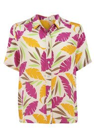 American Vintage Lincoln Silk Shirt - Carrot Tropic