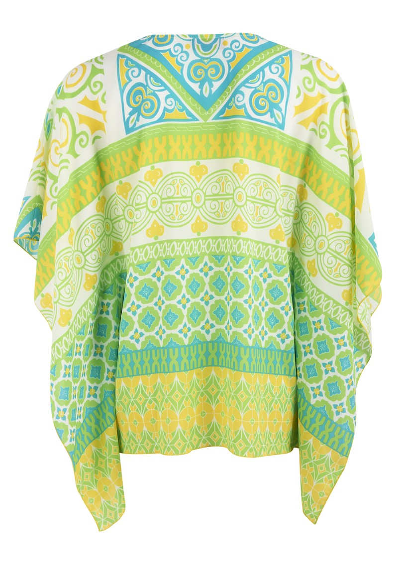 Retro Blouse - Lime main image