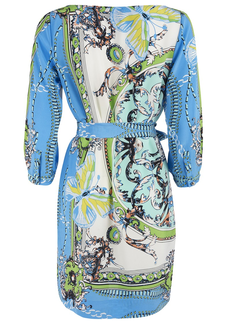Hale Bob Blue Print Dress - Blue main image